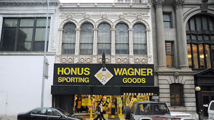 The Honus Wagner Sporting Goods store on Forbes Avenue is closing after 93 years in business Downtown.