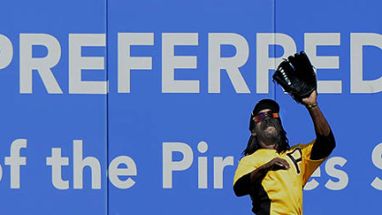 Pirates outfielder Andrew McCutchen.