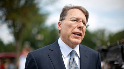 Executive vice president of the NRA, Wayne LaPierre.