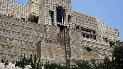 Billionaire Ron Burkle, co-owner of the Penguins, has snapped up Frank Lloyd Wright's 1924 landmark Ennis House for $4.5 million.