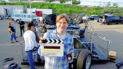 "Stephen Chbosky says people in Pittsburgh have been respectful during filming of ""The Perks of Being a Wallflower."""