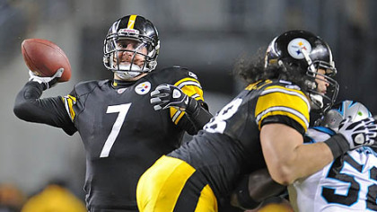 Steelers quarterback Ben Roethlisberger has thrown just five interceptions this season.