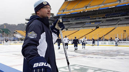 "Penguins coach Dan Bylsma on today's AFC championship game at Heinz Field: ""The Steelers are going to win the game if they win the special teams area."""