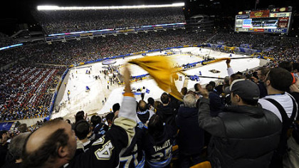 Heinz Field's turf will be re-sodded following Saturday's Winter Classic.
