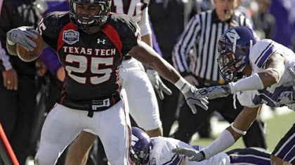 The Steelers drafted Texas Tech running back Baron Batch in the seventh round.