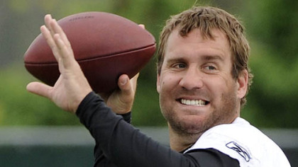 Steelers quarterback Ben Roethlisberger.