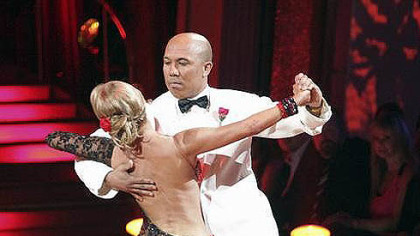 Kym Johnson and Hines Ward