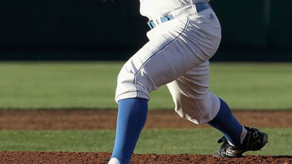 UCLA pitcher Gerrit Cole has a fastball that stays in the 93-96 mph range, even when he goes deep into games.