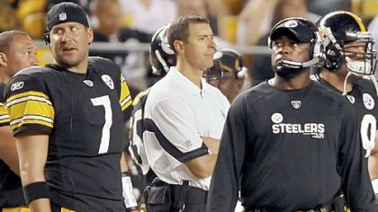 Mike Tomlin is characterized by a stern intensity and passion.