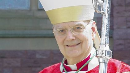 Most Rev. Donald W. Trautman, bishop of Erie.