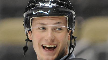 Penguins forward prospect Tom Kuhnhackl.