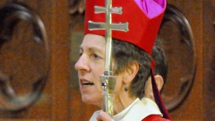 Episcopal Presiding Bishop Katharine Jefferts Schori