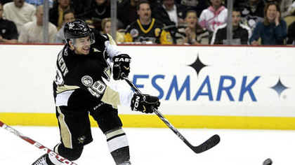 Penguins forward Tyler Kennedy scored 21 goals last season.