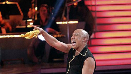 Hines Ward and Kym Johnson gave an encore performance on Tuesday of their samba on &quot;Dancing with the Stars.&quot;