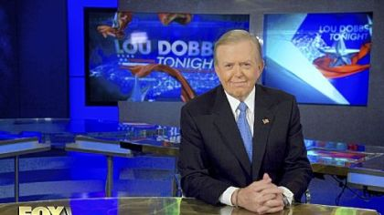 "Lou Dobbs: ""We are starting something and creating something brand new and I find that exhilarating, as do all the people I'm working with."""