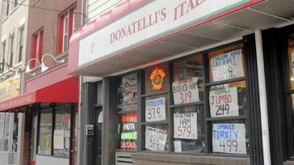 Donatelli's Italian Food on Liberty Ave. in Bloomfield.
