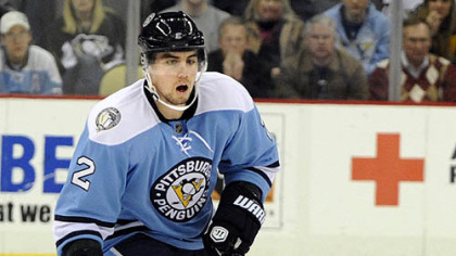 Penguins defenseman Matt Niskanen.