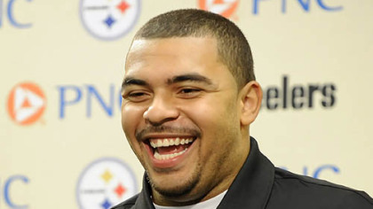 Steelers defensive lineman Cameron Heyward.