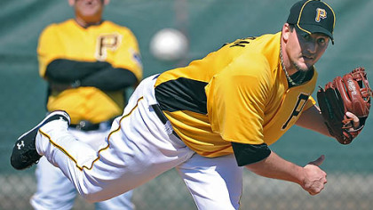 Pirates closer Joel Hanrahan.