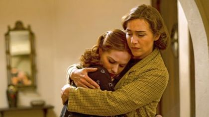 "Evan Rachel Wood and Kate Winslet portray daughter and mother in ""Mildred Pierce."""