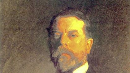 Self-portrait of John Singer Sargent.