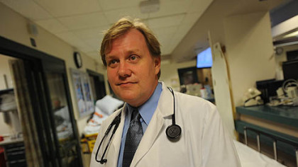 Dr. Rich Sullivan is an emergency room doctor at Jefferson Regional Hospital, where he has seen a rise in the number of patients being brought into the ER due to heroin overdoses.