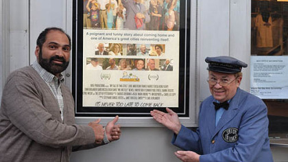 "Franco Harris and Mr. McFeely promote ""My Tale of Two Cities,"" which has its television premiere tonight on WQED at 8 p.m. It will be preceded at 7:30 by a conversation about the Pittsburgh comeback story with Paul O' Neill, Joanne Rogers, Franco Harris and Dok Harris. See www.mytaleoftwocities.com for more information."