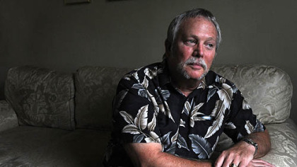 David Kish, of Carnegie, lost his job because of downsizing. He hadn't yet saved enough for retirement.