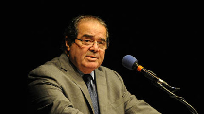 Supreme Court Justice Antonin Scalia delivered the keynote address as part of the centennial celebration of the Duquesne University Law School.