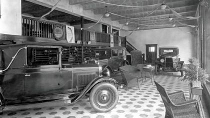 Colussy Showroom 1928