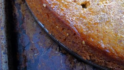 Semolina Cake with Honey and Pistachio