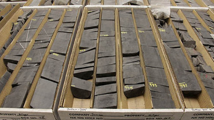 Penn State has one of the most extensive collections of Marcellus shale cores. Each core costs about $20,000 to extract using specialized equipment. University researchers rely on industry money to pay for these rocks.