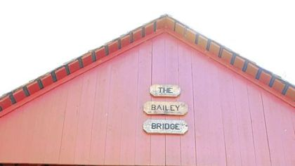 Bailey Covered Bridge in Amwell, Washington County, last fall. This bridge crosses the north fork of Ten Mile Creek and is west of Interstate 79.