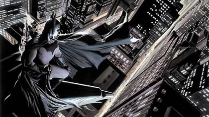 'Batman Knight Over Gotham,' by Alex Ross. 1999