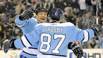 Bill Guerin was a good fit with Sidney Crosby.