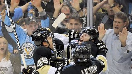 Goal-scoring celebrations have been as plentiful for James Neal, right, as shots. He's converting on 14.1 percent of his shots.