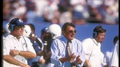 The width and breadth of Joe Paterno