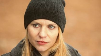"Claire Danes portrays Carrie Mathison in ""Homeland"" on Showtime."