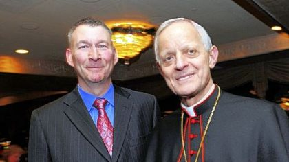 Kurt Smallhoover and Cardinal Donald Wuerl.
