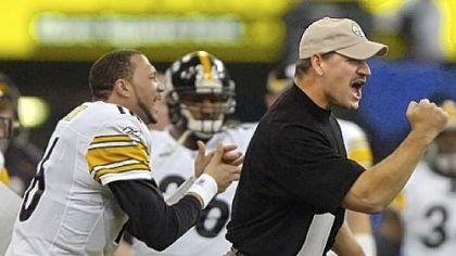Former Pittsburgh Steelers head coach Bill Cowher.
