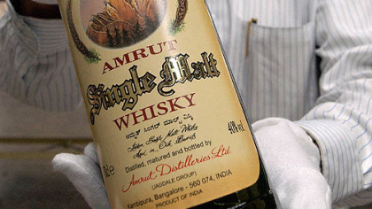 A wee dram of Amrut, please: Dreadnought Wines is having a tasting of the Indian whiskey Amrut next month. (Amrut refers to the nectar drunk by Hindu gods.)