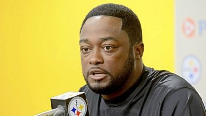 Steelers coach Mike Tomlin has no problem with brevity. He said all he needed to say to the media in 111/2 minutes Tuesday.