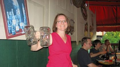 Christine Span of Pittsburgh BrewMasters.