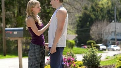 Tess (Jennifer Morrison) and Brendan (Joel Edgerton) in &#039;Warrior.&#039;