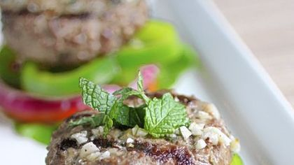 "Mint Lamburgers from the new book ""Make it Paleo"" by Hayley Mason and Bill Staley."
