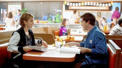 "Emma Watson and Logan Lerman star in ""The Perks of Being a Wallflower."""