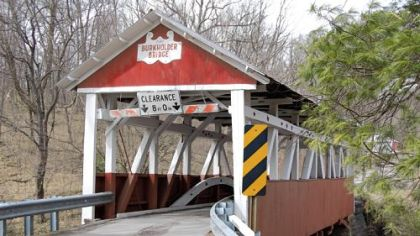 Burkholder Covered Bridge in Somerset County.