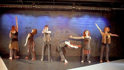 "Heidi Latsky Dance will bring ""GIMP"" to the August Wilson Center at 8 p.m. Saturday. A six-dancer cast (three with disabilities, three without) will explore the stereotypes of disabilities. The performance is presented by the FISA Foundation and Pittsburgh Dance Council."
