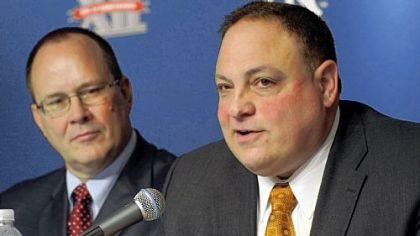 "John Marinatto, Big East commissioner: ""A contract is a contract."""