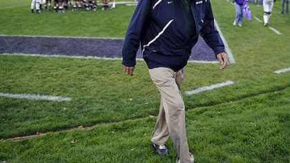 Longtime Penn State football coach Joe Paterno was fired Wednesday.